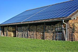 maison ecologique panneaux photovoltaïque